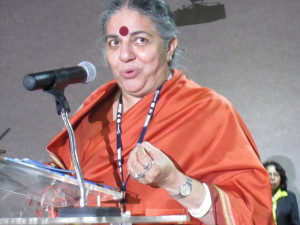 Vandana Shiva ITT Side Event